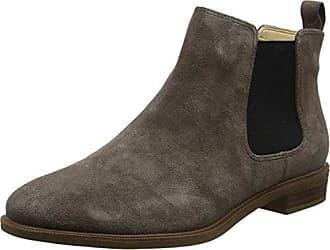Clarks Pita Sedona, Botines para Mujer, Marrón (Dark Brown Leather), 39.5 EU