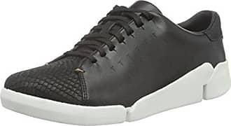 Clarks Glove Daisy, Zapatillas para Mujer, Negro (Black Combi Nbk), 35.5 EU