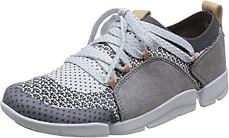 Clarks Glove Daisy, Zapatillas para Mujer, Negro (Black Combi Nbk), 41.5 EU