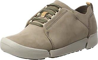 Clarks Tri Camilla, Zapatillas para Mujer, Beige (Sand Combi), 40 EU