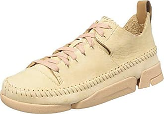 Chaussures De Sport Beige Faible Tri / Camilla Pâle Rose Clarks