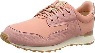 Clarks Floura Mix, Zapatillas para Mujer, Rosa (Pink Combi), 42 EU