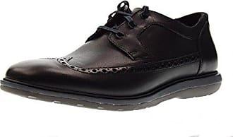 Clarks Gabson Apron - Zapatos de cordones de cuero para hombre, color marrón, talla 42.5 EU (8.5 Herren UK)
