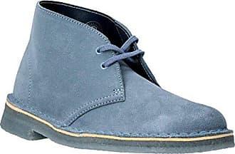 Clarks Womens Desert Boots 4.5 D (M) UK/37.5 EU Blue Grey