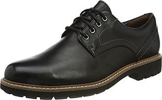 Lumberjack Hombre SM33804-001B01 Zapatos Brogue Negro Size: 45 EU