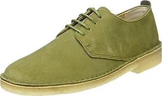 Clarks Hamble Oak, Zapatos de Cordones Brogue para Mujer, Gris (Grey Combi Lea), 41 EU