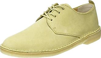 Edgewick Plain, Derby Homme, Marron (Tan Leather), 44.5 EUClarks
