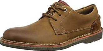 Tynamo Race, Zapatos de Cordones Derby para Hombre, Marrón (Tan Leather), 44.5 EU Clarks