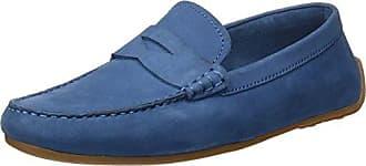 261293684, Zapatos sin Cordones Mujer, Azul (Navy), 37.5 EU Clarks