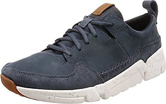 Clarks Campton Trail, Sneakers Basses Homme, Vert (Olive Canvas), 44 EU