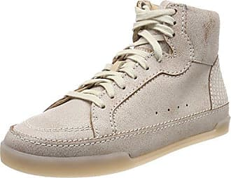 Clarks Glove Daisy, Zapatillas para Mujer, Blanco (White Combi Lea), 39.5 EU