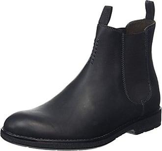 Daulton Up, Bottes Chelsea Homme, Noir (Black Leather), 45 EUClarks