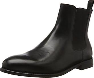 Newkirk Hill, Bottes Chelsea Homme, Noir (Black Leather), 46 EUClarks