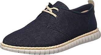 Clarks Mzt Blithe, Zapatillas para Mujer, Azul (Ice Blue), 41 EU