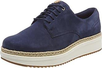 s.Oliver 23623, Zapatos de Cordones Oxford para Mujer, Azul (Navy Comb.), 38 EU