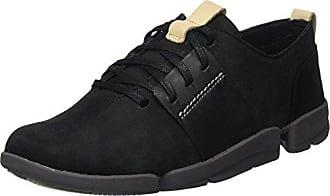 Clarks Glove Daisy, Zapatillas para Mujer, Negro (Black Combi Nbk), 37 EU