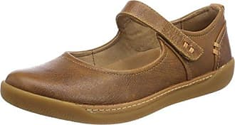 Damara Thrill, Mocasines para Mujer, Marrón (Dark Tan Suede), 42 EU Clarks