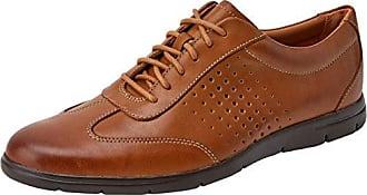 Clarks Banbury Limit, Zapatos de Cordones Brogue para Hombre, Marrón (British Tan Lea), 46 EU