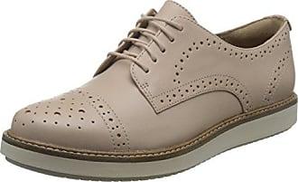 Hotter Mabel EXF, Zapatos de Cordones Oxford para Mujer, Beige (Beige 059), 38.5 EU
