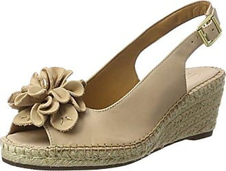 Hotter CANDCS, Bout Ouvert Femme - Beige - Beige (Stone 127), 39
