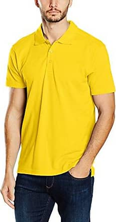 Marc O'Polo 720223655034, Polo Homme, Jaune (Honey 249), XXL