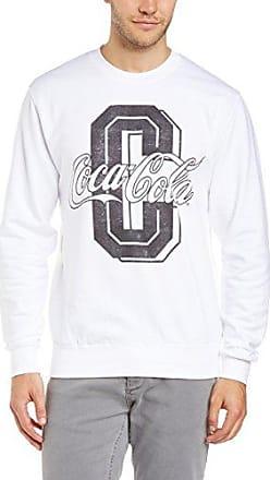Coke-College - Sudadera con manga corta para hombre, color red, talla m Coca Cola Ware