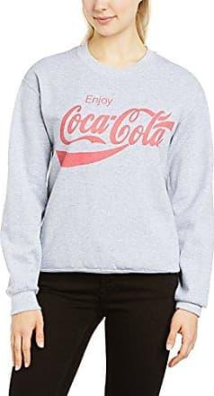 Womens Cc_Logo Options Crew Neck Long Sleeve Sweatshirt Coca Cola Ware