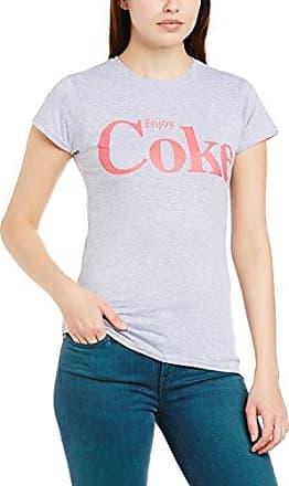 Coca-Cola Womens Lace Foil Bottle Crew Neck Short Sleeve T-Shirt Coca Cola Ware