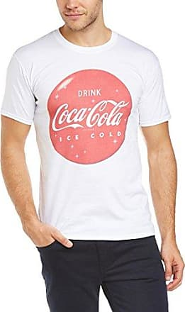 Mens Refresh Yourself Navy Short Sleeve T-Shirt Coca Cola Ware
