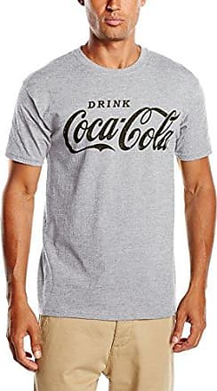 Mens Drink Black Short Sleeve T-Shirt Coca Cola Ware