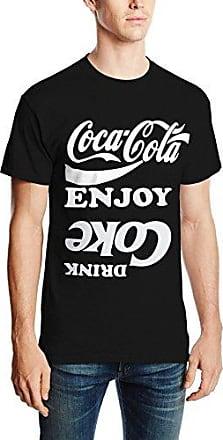 Womens Cherry Coke Plain Short Sleeve T-Shirt Coca Cola Ware
