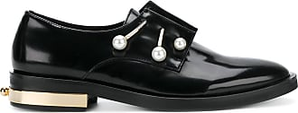 pearl detail loafers - Black Coliac di Martina Grasselli