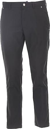 Pantalones de Hombre, Pantalón Baratos en Rebajas, Negro, Poliester, 2017, 46 50 Colmar