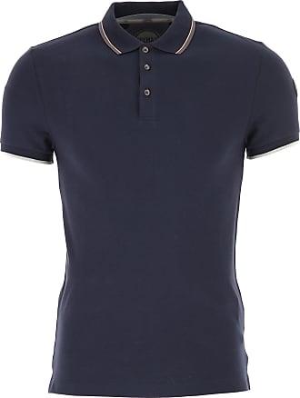 Polo Homme, Bleu marine, Coton, 2017, L SColmar