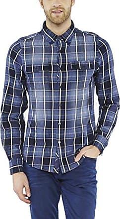 Robbie, Camisa para Hombre, Azul (Navy), X-Large Colorado