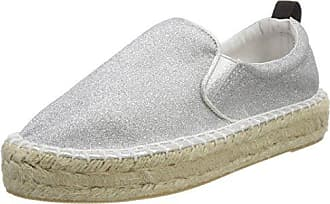 Colors of California Damen Sneaker in Woven Material, Weiß (White), 40 EU