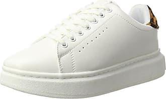 Colours of California Sneaker in Woven Material, Zapatillas Para Mujer, Multicolor (Black), 41 EU