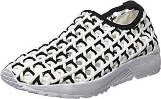 Colours of California Sneaker in Woven Material, Zapatillas para Mujer, Multicolor (Black), 38 EU