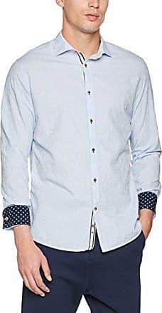 MAX, Camisa para Hombre, Azul (Sky Dot), M Colours & Sons