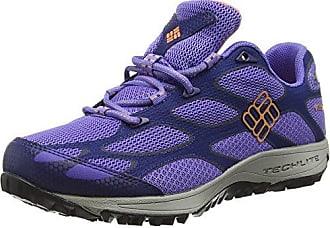 Columbia Canyon Point, Zapatos de Low Rise Senderismo para Mujer, Gris (Dark Moss, Zuc 999), 42 EU