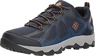 Columbia Vapor Vent, Zapatos de Low Rise Senderismo para Hombre, Azul (Collegiate Navy, Mountain Red 464), 42.5 EU