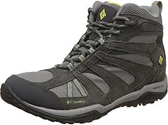 Columbia Womens Dakota Drifter Mid Waterproof Hiking Boot Light Grey Sunnyside 9 B
