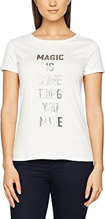 Comma 81801313227, Camiseta de Manga Larga para Mujer, Blanco (Offwhite 0120), 42