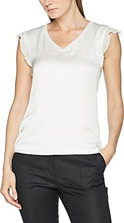Comma T-Shirt Kurzarm, Camiseta para Mujer, Rayas, 42