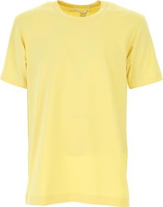 Camiseta de Hombre Baratos en Rebajas, Amarillo, Algodon, 2017, M S Comme Des Garçons