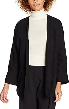 Rodari, Manteau Femme, Noir (Negro), FR: 40 (Taille Fabricant: L)Compañíafantástica