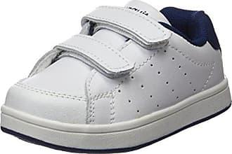 Conguitos Colegial Lavable Velcro, Zapatos de Cordones Derby Bebé, Azul (Marino 2), 34 EU
