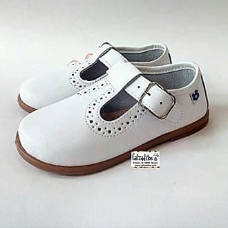 Conguitos Zapatos Para Niño En Piel De Color Blanca, De Osito by Blanco, 25