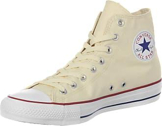 UA Sk8-Hi Slim, Sneakers Hautes Femme, Ivoire (Leather Canvas Bone/True White), 35 EUVans