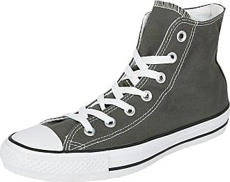 Converse Chuck Taylor CTAS Ox Textile, Zapatillas de Deporte Unisex Adulto, Negro (Black/Wolf Grey/White 064), 42/43 EU